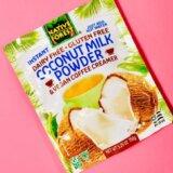 エドワード&サンズのココナッツミルクパウダーは使い勝手良し!長期保存ができていろんな料理に大活躍!